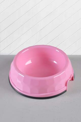 Cat and Dog Food/Water Bowl Large Pink
