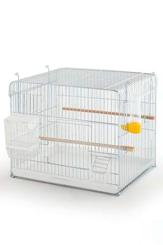 Production Cage 45*35*40 Grid Full Set Silver