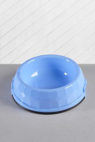 Cat and Dog Food/Water Bowl Large Blue