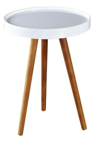 Pollen Side Table White