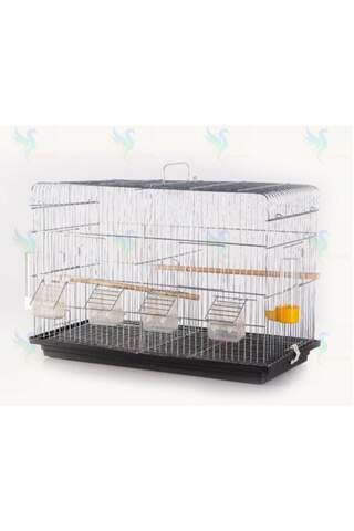 Farmhouse And Production Cage With Partition 60x40x28